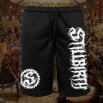 Stillbirth - Mesh Shorts Highlander- Logo weiß - Größe S - 5XL