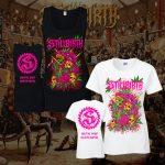 Stillbirth - Pink T-Rex - Girlie Shirt/Tank Top - Größen S - XL - 2 Farben