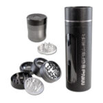 Mind Grinder - Aluminium Grinder 4-tlg. Ø 52mm in Geschenkbox