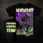 Deathfeast OA - Parkbank Saufen Shirt - Größe S - 3XL