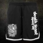 Deathfeast OA - Mesh Shorts mit Streifen - Parasite - Größe S - 3XL
