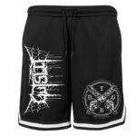 Gutslit - Mesh Shorts mit Streifen - Chainsaw - Größe S - 2XL