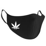 Snice - Cannabis Leaf Gesichtsmaske