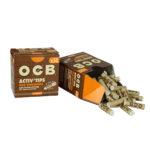 OCB Slim Virgin Aktivkohlefilter - Ø 7mm - im Set mit 10 - 500 Stück