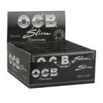 'OCB' King Size Schwarz Premium Slim - 1 / 5  / 10 / 25 / 50 Packs im Set