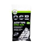 OCB Extra Slim Aktivkohlefilter - Ø 6mm - im Set mit 10 - 500 Stück