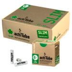 actiTube Aktivkohlefilter Extra-SLIM - Ø 6mm - im Set mit 10 - 500 Stück